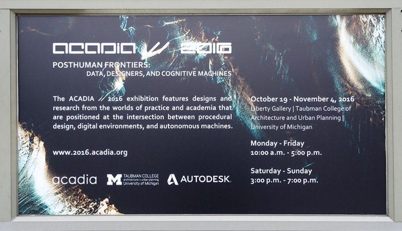 Notes on ACADIA2016 | ACADIA2016记之一(美国计算机辅助建筑设计协会年会)