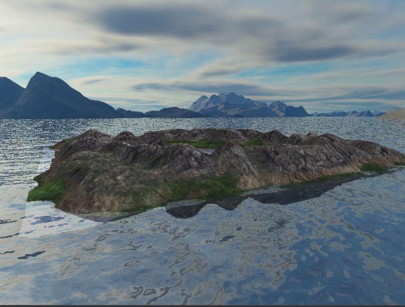 Flowmap in OpenGL | OpenGL中Flowmap水面