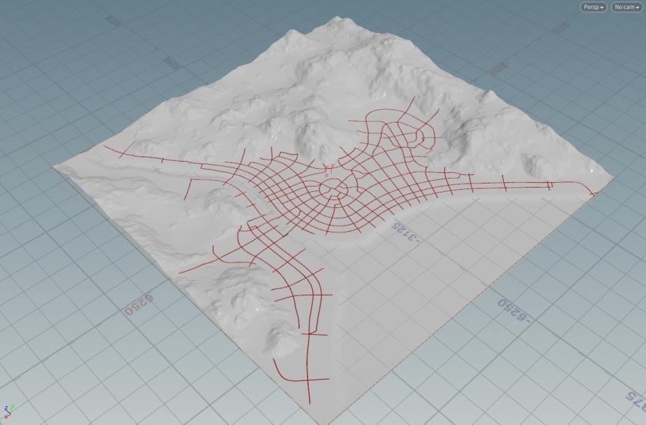 Procedural Street Modelling In Houdini 1 | Houdini中程序式街道生成 I
