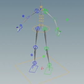 Houdini Rigging for Game, A Brief Research | Houdini游戏绑定,入门踩坑